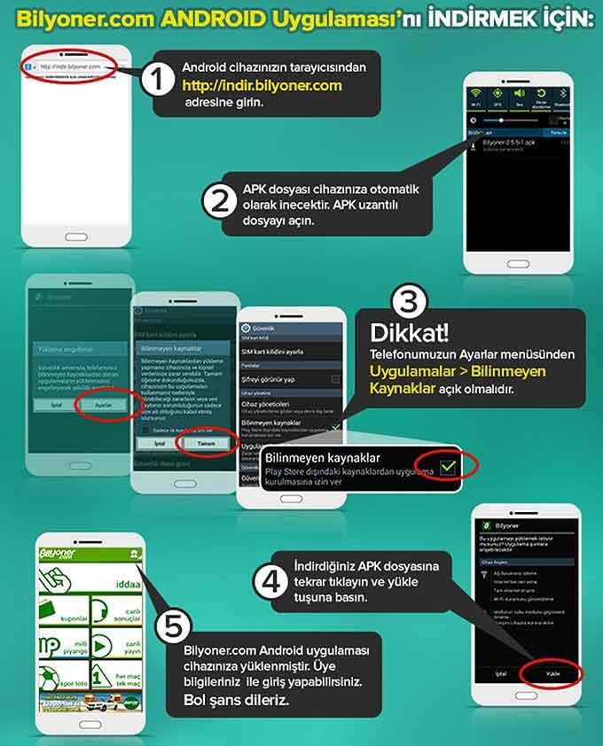 bilyoner mobil indir android