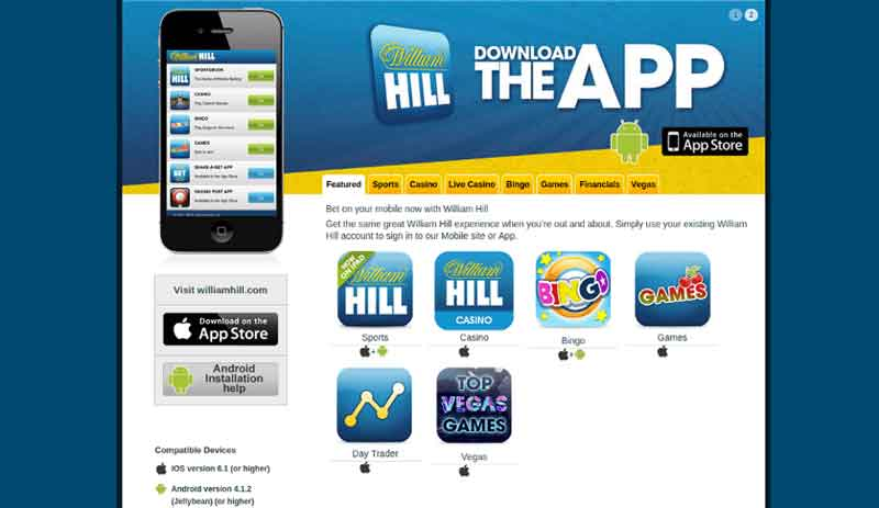 william hill android apk