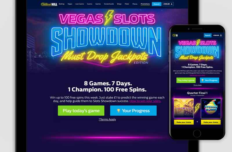 William Hill Vegas Casino Uygulaması